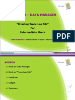 Creating Track Log File