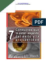 7 Conductas Que Te Alejan Del Exito y La Prosper Id Ad
