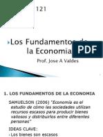 Los Fundamentos Dela Economia