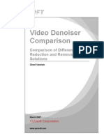 Video Denoiser Comparison