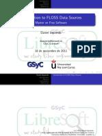 FLOSS Data Sources Metrics