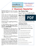 Week 15 Newsletter
