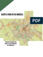 Mappa Degrado a Modena