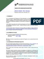 Edital n 001-2011 Processo Seletivo 2012