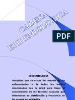 CADENA APIDEMIOLOGICA CLASE