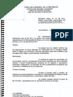 Informe Contraloria General de la Republica  de la Municipalidad de Petorca