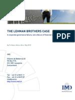 Lehman Brothers Case