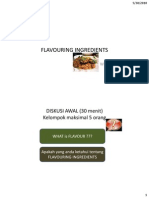 Flavouring Ingredients