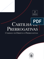 Cartilha de Prerrogativas Do Advogado