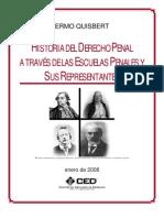 Historia Del Derecho Penal a Traves de Las Escuelas Penales