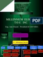 Millennium short presentation November 2006
