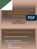 Genetica Molecular de Los Trans Tor Nos Mentales