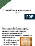 Casi Guerra Entre Argentina y Chile 1978