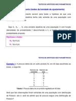 Acetatos Teste nao Paramétricos