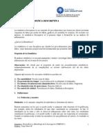 Unidad II Estadística Descriptiva