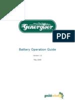 Battery Manual