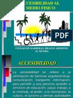 Accesibilidad Al Medio Fisico