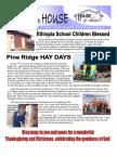 House of Friends November 2011 newsletter