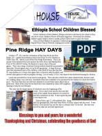 House of Friends November 2011 newsletter