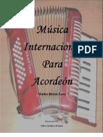 Música Internacional para Acordeón