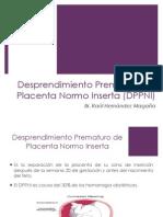 Desprendimiento de Placenta Normo Inserta