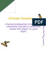 Attitude Formation 2011