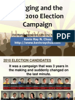 Blogging and the May 2010 Election Campaign (by Kevin Ray Chua)