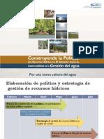 Politica Gestion Integral Recursos Hidricos MARN