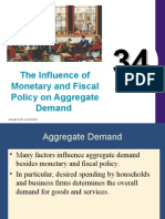 Influence Monetary and Fiscal Policy