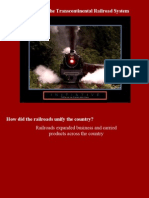 Unit 5 Objective 1- Transcontinental Railroads