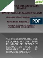 Ley Federal de Telecomunicaciones