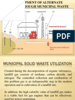 Municipal Solid Waste Utilization
