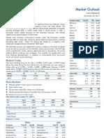 Market Outlook 23rd November 2011