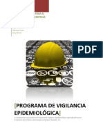 Programa de Vigilancia Epidemiológica PVE