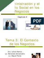 La Administración y El Impacto Social en Los Negocios