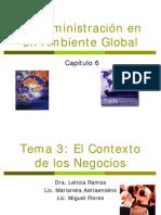 La Administración en Un Ambiente Global