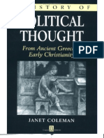 History of Political Thought 1