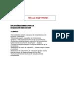 EVALUACIÓN DE COMPETENCIAS EN