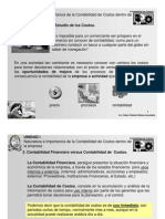 Costos I Presentaciones 2008