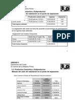 Ejemplo de Asignación de Costos Conjuntos