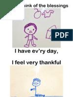 My Blessings Flip Chart