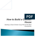 How to Build a Chicken House