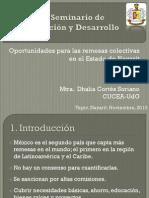 III Seminario Migración y Desarrollo- UAN