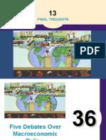 Five_debates on Macro Economic Policy