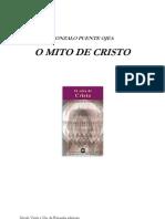 Gonzalo Puente Ojea - O Mito de Cristo