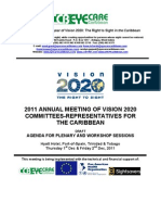 2011 V2020 Meetings Agenda - Days 1 & 2
