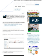 Como Disponibilizar Documentos Para Download Em Posts Do Wordpress _ [ Ferramentas Blog ]