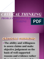 Critical Thiniking Presentation
