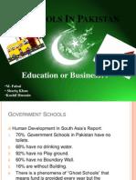Schools in Pakistan