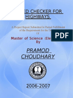 Speed Checker for Highways